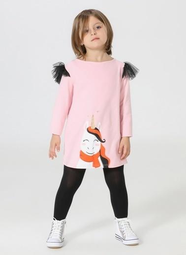 Lupiakids Süslü Unicorn Tüllü Elbise Renkli